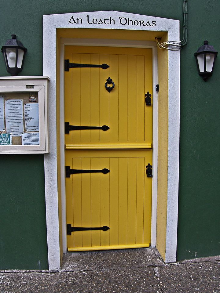 "An Leath Dhoras - The Half Door . <a href=""http://www.dingle-region.com"">http://www.dingle-region.com</a>"
