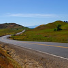 October 9, 2008.<br /> This is one leg of the road that circumnavigates the Sutter Buttes.