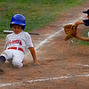 October 22, 2008.<br /> This kid was the best base runner on my nephew Preston's little league team. He also bit his tongue a lot.