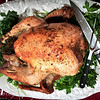 November 25, 2010.<br /> <br /> Happy Thanksgiving everyone! Here is the turkey that we had today, which was cooked by my mother-in-law. It turned out great!