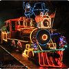 December 11, 2010<br /> <br /> Zoo lights at the Portland Zoo. This is a photos of the train we rode around the Zoo park. It was really cool, too bad it was raining a little. I got this photo as we were leaving the train area to go home.