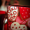Wednesday, February 11, 2009.<br /> <br /> Jeneé has been working on valentines for her students, and I saw this little box on the table today that looked pretty cool. I had to take a picture of it.