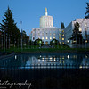 Monday, November 2, 2009.<br /> <br /> I am still processing some photos from yesterday's photo shoot at the Oregon State Capitol park. Here is a side view of the Capitol Building, taken approximately around 5:45pm.