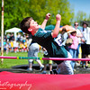 Friday, May 20, 2011<br /> <br /> Eli and Noah competed at an All School Track meeting today in Albany, OR. The weather was very warm (around 75 degrees). The boys did well and maintained a positive attitude, even though they had to wait a long time between each event they signed up for. This is Noah on high jump. He did awesome!