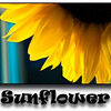 June 29, 2009.<br /> <br /> Gabe took this sunflower shot yesterday at my sister-in-law's trailer. I liked his composition and decided to make a postcard (sort of).