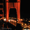 Sunday, February 27, 2010<br /> <br /> Another photo taken in San Francisco, this time of the Golden Gate bridge at night.