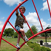 June 24, 2009.<br /> <br /> Another photo taken from the park near our house. Noah has a great time climbing and running when we are there. He can now do the monkey bars all by himself. It always amazes me how kids (sometimes) don't have a sense of fear!