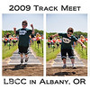Friday, May 15, 2009.<br /> <br /> Eli had a track meet at Lynn Benton Community College in Albany, Oregon today. We went to support and encourage him. He participated in the 100m, 200m, Long Jump, and High Jump. It was his first year participating in High Jump. Overall he did a great job, even though he didn't feel like he did.