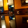August 19, 2009.<br /> <br /> Our niece arrived today from Kansas and we all went to pick her up at the airport. On the way back we stopped at The Old Spaguetti Factory for dinner. Gabe took this photo of the room we were using. I like the colors and tones, as well as the reflection on the table.