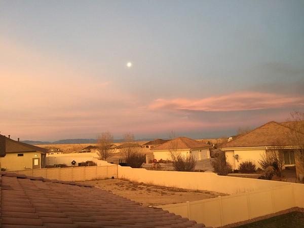Early Morning Light -- 12/08/14