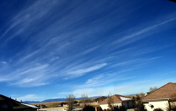 Nothin' but blue skies do I see -- 11/21/14