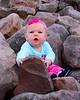 092615<br /> Adelyn<br /> Boulder Field<br /> Hickory Run State Park