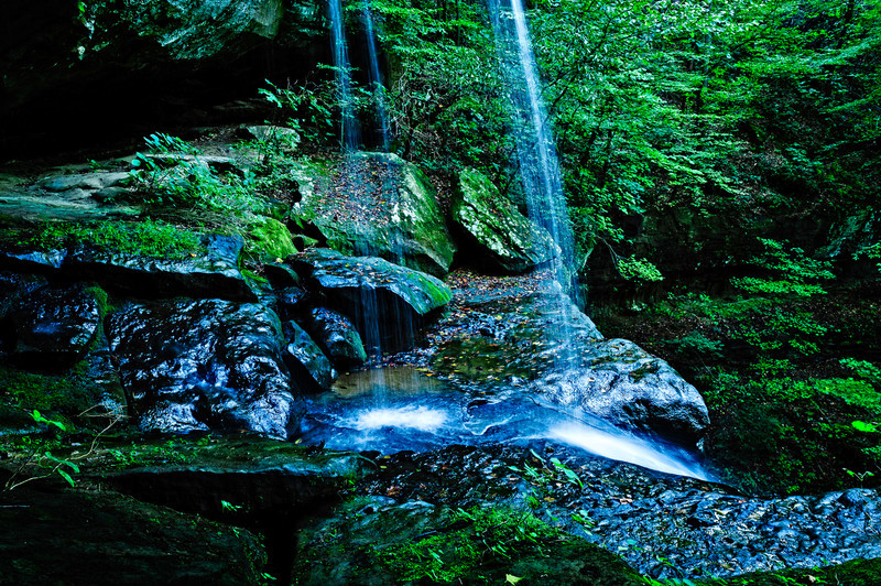 mid falls, Cane Creek Canyon Nature Preserve, Tuscumbia, AL