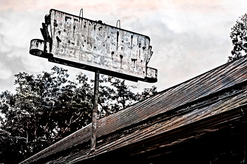 rural america, old signs like this one are vanishing from the american landscape