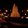 fountain at night, Linn Park, Birmingham, Alabama