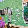 life on a wall <p></p> As I walk around when I am photographing in urban areas there is never a shortage of interesting thigs to see. This is an awesome piece of street art on a wall in Birmingham, Alabama. The artist signed and dated the piece in the edge of the picture that is captured on the right side of the image. Due to being exposed to the elements for 8 years, the painting has aged a bit which adds additional character to the work. My thanks to the artist for this work. <p></p>