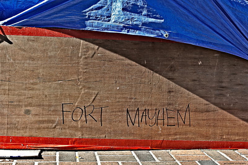 Fort Mayhem, Occupy Birmingham<br /> <br /> Birmingham, Alabama