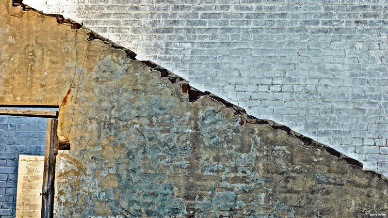 brick wall and doorway, Atlanta