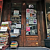 "the entrance to a shop that is a visual feast...spent a lot of time inside shooting, more images to follow and i barely scratched the surface at <a href=""http://www.jimreedbooks.com/index.php"">Jim Reed Books</a>. What's inside blew my mind. There's a lot of detail in this shot."