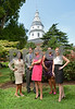 08.02.12-Annapolis, MD- L to R- Dolores Dorsainvil, Devin Doolan, Terri Brown, Courtney Thomas, Holli O'Shea. (Maximilian Franz/The Daily Record).