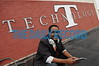 08.24.10 BALTIMORE, MD. -Mario Armstrong, Digital Lifestyle Expert, Mario Armstrong Media. Portraits on the roof of the emerging Technology center in front of the Technology sign.(Maximilian Franz/ The Daily Record)