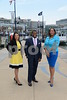 7-22-16 NATIONAL HARBOR, MD- Indira Sharma, Harry Spikes, Lisa Hall Johnson. (The Daily Record/Maximilian Franz)