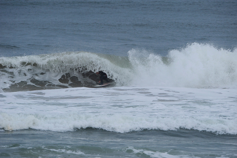 Adam riding a frothy one