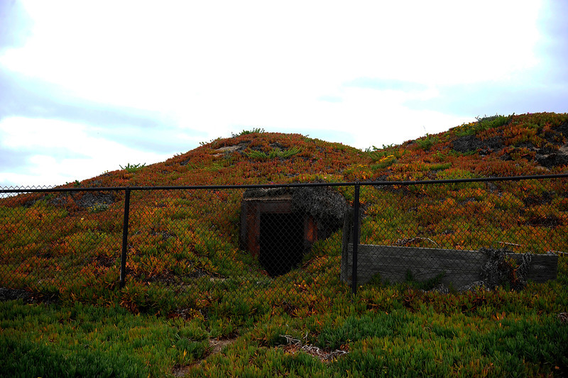 One of the many abandoned WWII Bunkers now off limits, hence the name....Bunkers.