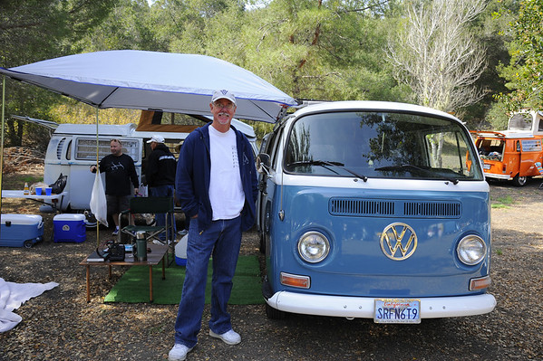 Lifelong friend Craig Ferre who I havent seen in 36 years!! With his '69 camper, it was really cool to hang out with him today and get caught up, Small Kine!