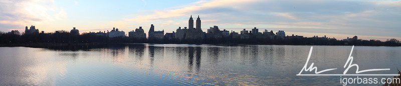 NYC Upper West Side from Central Park