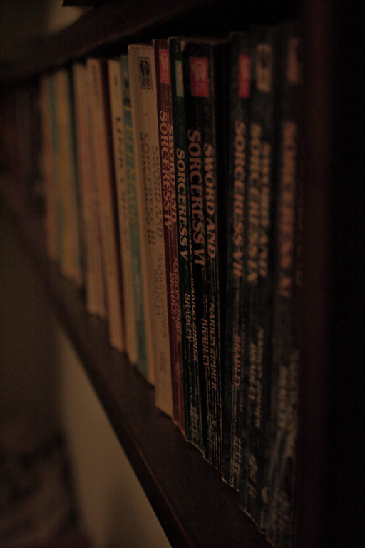 Feb. 16: Row of Books