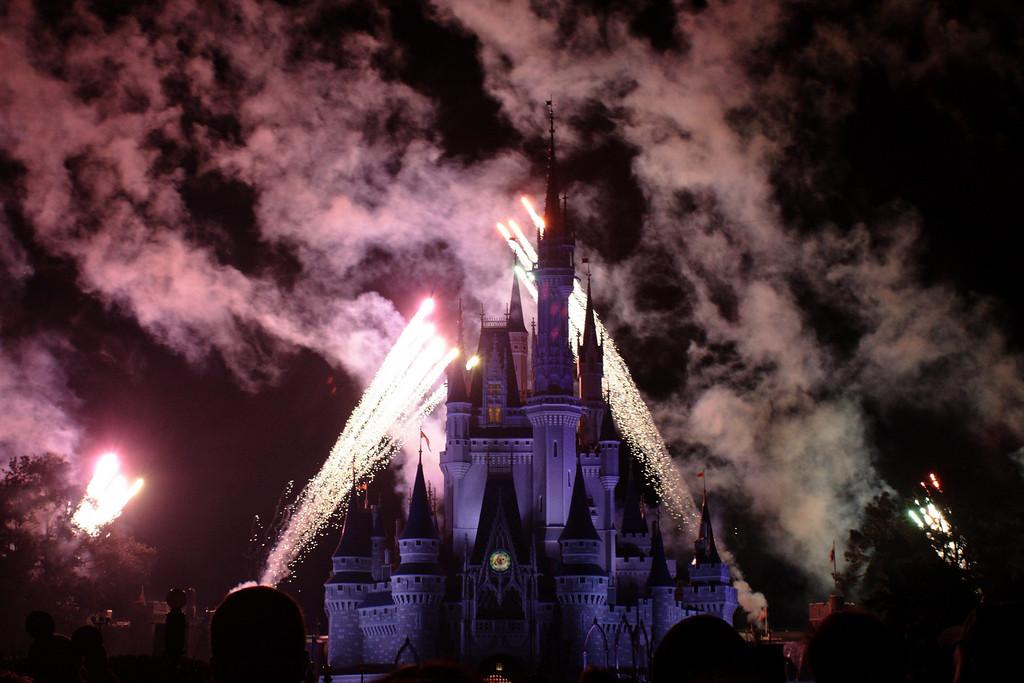 Feb. 3: Fireworks Over Cinderella's Castle