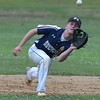 PETE  BANNAN-DIGITAL FIRST MEDIA          Broomall-Newtoen's (9)Sean Donnell grabs a Springfield infield pop-up.