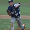PETE  BANNAN-DIGITAL FIRST MEDIA          Broomall-Newtoen's (27) Brett Tanis throws againstSpringfield.