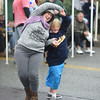PETE BANNAN-DIGITAL FIRST MEDIA  Cia Canaglia dances with her son, Ian at the Haverford Spring Music Festival on Sunday May 1 on Brookline Blvd. in Havertown. The rain or shine event  featured six bands including The Verve Pipe and Chico's Vibe.