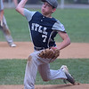 PETE BANNAN  DIGITAL FIRST MEDIA   Owen Mathes throws the in the District 19 Little League finals match-up between Drexel Hill and Marple.  Marple won 10-1, Mathes also had two homeruns in the victory.