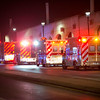 RICK KAUFFMAN - DIGITAL FIRST MEDIA <br /> Ambulances queue outside 69th Street Terminal Tuesday morning.