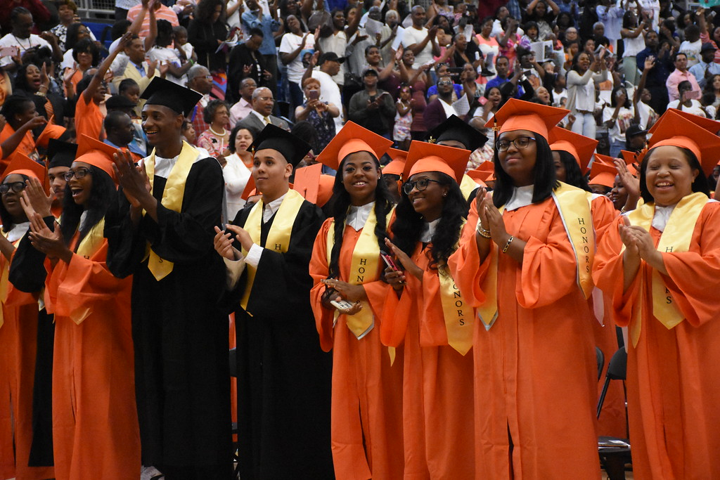 . Chester High School and the STEM Academy at Showalter  graduated from the Mirenda Center at Neumann University. This is the 143rd Commencement ceremony.