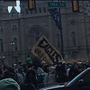 Fans get fired up in Center City. Photo by Kathleen E. Carey
