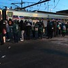 Happy #Eagles fans  boarding #SEPTA Train 418 in Marcus Hook. Photo by Rose Quinn