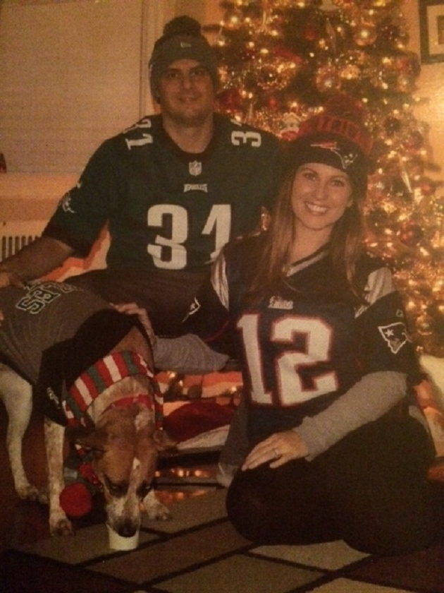 . Kristen and Dante DeSantis from Newtown Square