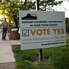 RICK KAUFFMAN - DIGITIAL FIRST MEDIA <br /> A referendum to allow Swarthmore businesses to sell beer, wine or spirits by the glass or takeout was on the ballot Tuesday.