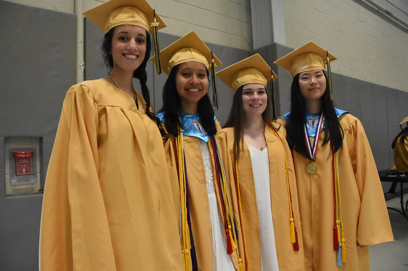 Sun Valley 's Class of 2017 graduated from the Mirenda Center at Neumann University on June 14, 2017