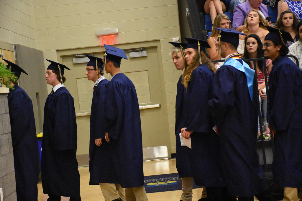. Sun Valley \'s Class of 2017 graduated from the Mirenda Center at Neumann University on June 14, 2017