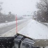 A view from a plow truck at Paoli Pike and Route 202. Photo by Patti Paul