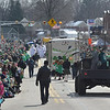 PETE  BANNAN-DIGITAL FIRST MEDIA      Springfield's St. Patrick Day filled Saxer Ave. Saturday with thousands who enjoyed the parade under sunny skies.
