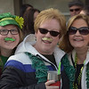 PETE  BANNAN-DIGITAL FIRST MEDIA     Alicia Gould, Kim GOuld and Donna Mitchell of Cinncinnatti, formerly of Springfield are stached for Springfield's St. Patrick Day Saturday.