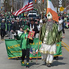 PETE  BANNAN-DIGITAL FIRST MEDIA   Pat and John Cooke march with the Ancient Order of Hibernians at Springfield's St. Patrick Day Saturday.