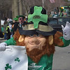 PETE  BANNAN-DIGITAL FIRST MEDIA     This troll  marched with Thunderbird II at Springfield's St. Patrick Day Saturday.