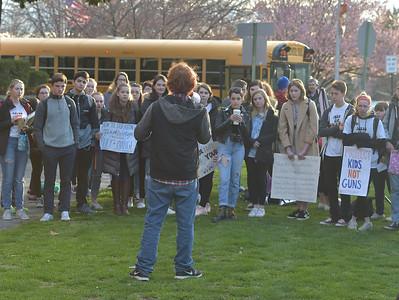 WalkOut Haverford High School April 20, 2018